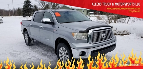 2010 Toyota Tundra Limited for sale at ALLENS TRUCK & MOTORSPORTS LLC in Buckley MI