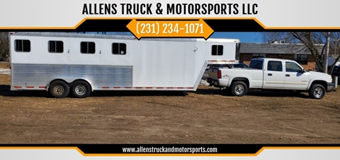 2003 Featherlite 4 Horse Slant for sale at ALLENS TRUCK & MOTORSPORTS LLC in Buckley MI