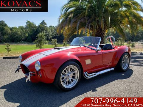 1966 Shelby Cobra for sale in Sonoma, CA