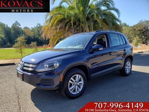 2016 Volkswagen Tiguan for sale in Sonoma, CA