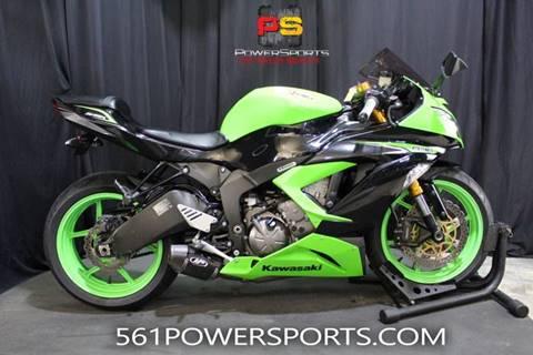2013 Kawasaki Ninja Zx 6r For Sale In South Lee Fl