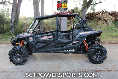 2018 Polaris RZR XP 4 1000 EPS High Lifter for sale at 954 Powersports in South Lee FL