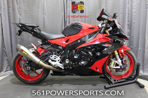 2016 BMW S 1000 RR for sale at Powersports of Palm Beach in South Lee FL