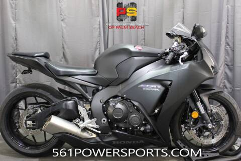 2016 Honda CBR1000RR for sale at Powersports of Palm Beach in South Lee FL