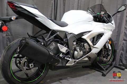 2017 Kawasaki Ninja ZX-6R