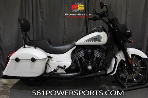 2019 Indian Springfield® Dark Horse® ABS for sale at Powersports of Palm Beach in South Lee FL