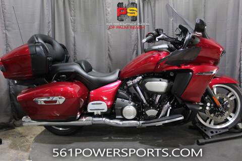 2018 Yamaha Star Venture with Transcontine for sale at Powersports of Palm Beach in South Lee FL