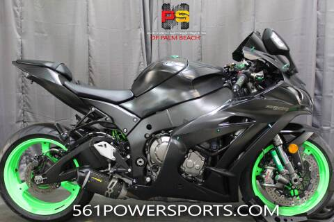 2016 Kawasaki Ninja ZX-10R ABS for sale at Powersports of Palm Beach in South Lee FL