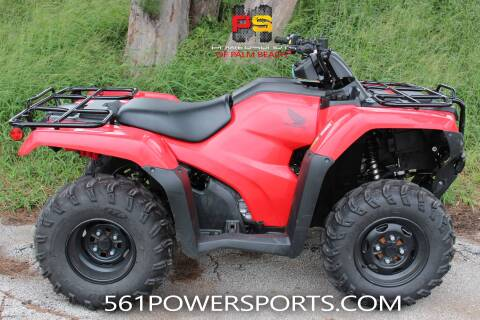 2019 Honda FourTrax Rancher 4x4 DCT EPS for sale at Powersports of Palm Beach in South Lee FL