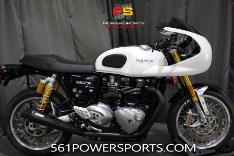 2018 Triumph Thruxton for sale at Powersports of Palm Beach in South Lee FL