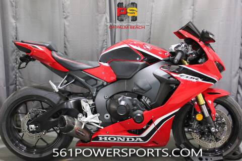 2017 Honda CBR1000RR for sale at Powersports of Palm Beach in South Lee FL
