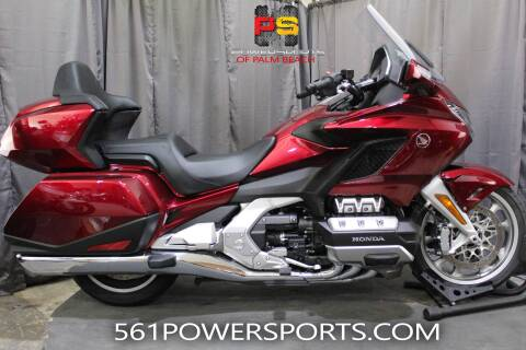 2018 Honda Gold Wing Tour for sale at Powersports of Palm Beach in South Lee FL