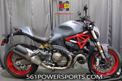 2017 Ducati Monster 821 for sale at Powersports of Palm Beach in Hollywood FL