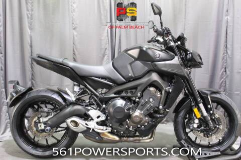 2018 Yamaha MT-09 for sale at Powersports of Palm Beach in South Lee FL