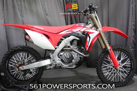 2018 Honda CRF450R for sale at Powersports of Palm Beach in South Lee FL