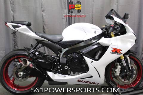 2017 Suzuki GSX-R750 for sale at Powersports of Palm Beach in South Lee FL