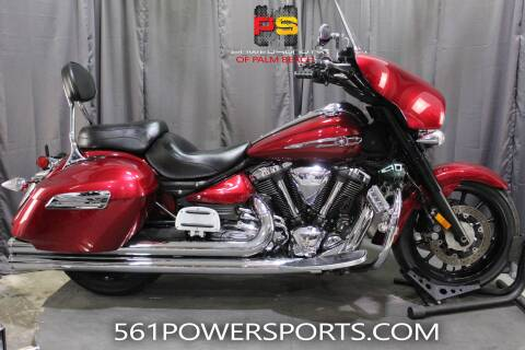 2014 Yamaha Stratoliner Deluxe for sale at Powersports of Palm Beach in South Lee FL