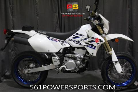 2017 Suzuki DR-Z400SM for sale at Powersports of Palm Beach in South Lee FL