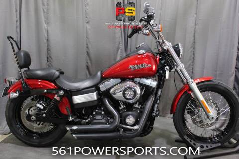 2012 Harley-Davidson Dyna® Street Bob® for sale at Powersports of Palm Beach in Hollywood FL