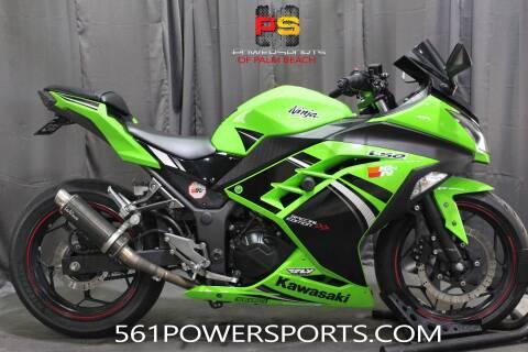 2014 Kawasaki Ninja® 300 SE for sale at Powersports of Palm Beach in South Lee FL