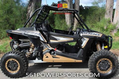 2018 Polaris RZR XP 1000 EPS Trails and Roc for sale at Powersports of Palm Beach in South Lee FL