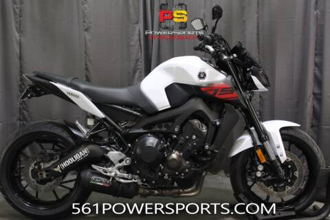 2017 Yamaha FZ-09 for sale at Powersports of Palm Beach in South Lee FL