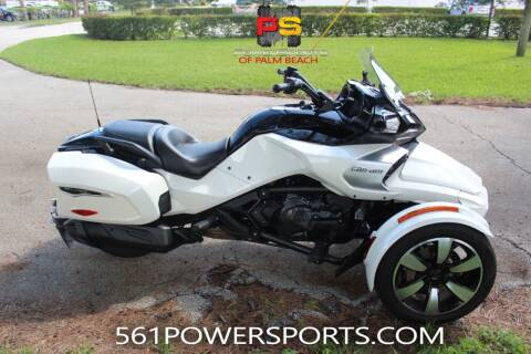 2018 Can-Am Spyder F3-T for sale at Powersports of Palm Beach in South Lee FL