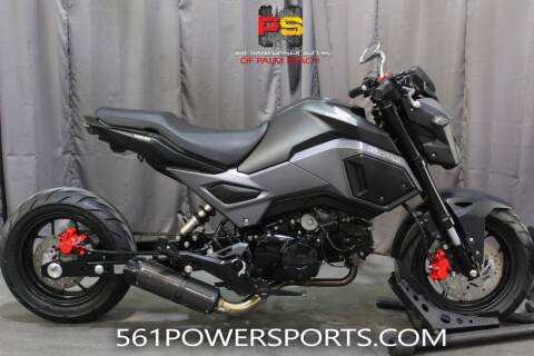 2018 Honda Grom for sale at Powersports of Palm Beach in South Lee FL