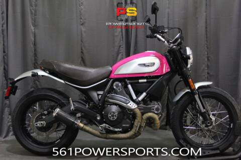 2016 Ducati Scrambler Full Throttle for sale at Powersports of Palm Beach in South Lee FL
