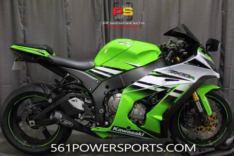 2015 Kawasaki Ninja® ZX™-10R ABS 30th Annive for sale at Powersports of Palm Beach in South Lee FL