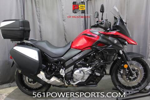 2019 Suzuki V-Strom 650XT Touring for sale at Powersports of Palm Beach in South Lee FL
