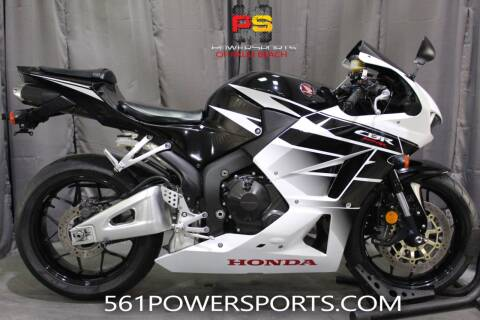2016 Honda CBR600RR for sale at Powersports of Palm Beach in South Lee FL