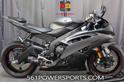 2013 Yamaha YZF-R6 for sale at Powersports of Palm Beach in Hollywood FL