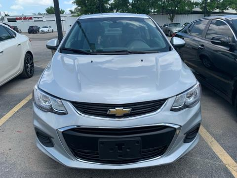 2017 Chevrolet Sonic for sale at Magic Auto Sales in Dallas TX