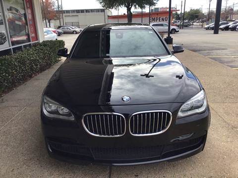 2013 BMW 7 Series for sale at Magic Auto Sales - Cars for Cash in Dallas TX