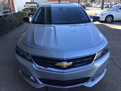 2015 Chevrolet Impala for sale at Magic Auto Sales in Dallas TX
