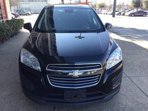 2015 Chevrolet Trax for sale at Magic Auto Sales in Dallas TX