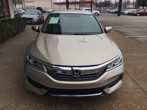 2017 Honda Accord for sale at Magic Auto Sales in Dallas TX
