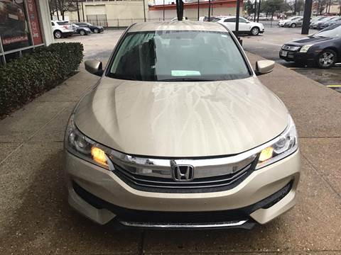 2017 Honda Accord for sale at Magic Auto Sales in Dallas TX