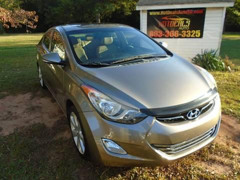 2013 Hyundai Elantra for sale at Hot Deals Auto LLC in Rock Hill SC
