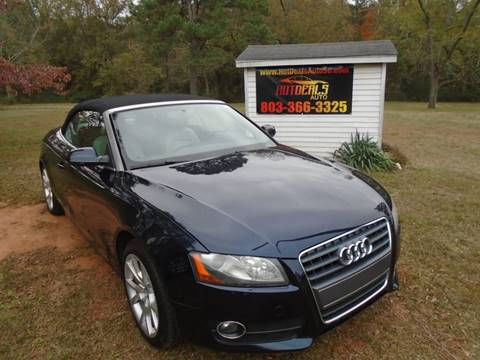 2011 Audi A5 for sale at Hot Deals Auto LLC in Rock Hill SC
