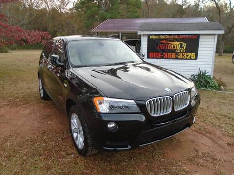 2014 BMW X3 for sale at Hot Deals Auto LLC in Rock Hill SC