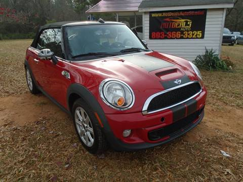 2012 MINI Cooper Convertible for sale at Hot Deals Auto LLC in Rock Hill SC