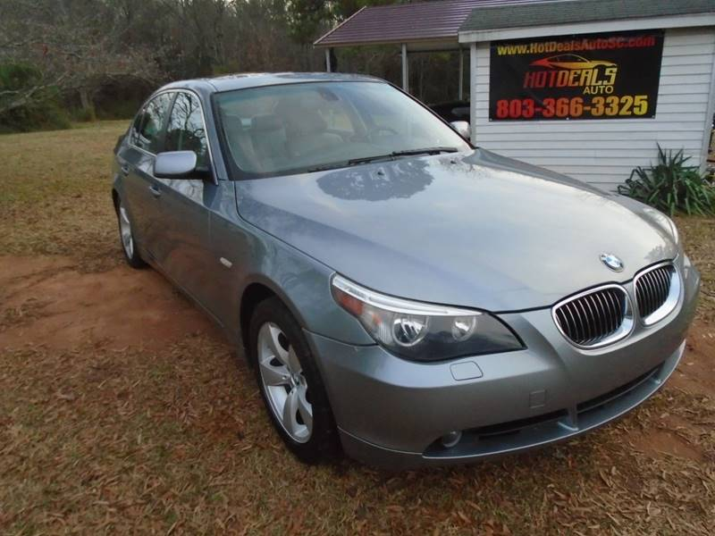 2007 BMW 5 Series for sale at Hot Deals Auto LLC in Rock Hill SC