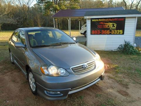2008 Toyota Corolla S for sale at Hot Deals Auto LLC in Rock Hill SC
