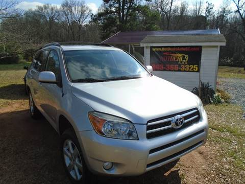 2007 Toyota RAV4 Limited for sale at Hot Deals Auto LLC in Rock Hill SC