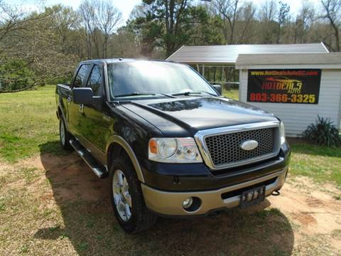 2006 Ford F-150 Lariat for sale at Hot Deals Auto LLC in Rock Hill SC