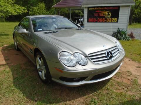 2003 Mercedes-Benz SL-Class SL 500 for sale at Hot Deals Auto LLC in Rock Hill SC