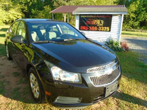 2014 Chevrolet Cruze for sale at Hot Deals Auto LLC in Rock Hill SC