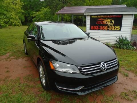 2014 Volkswagen Passat 1.8T Wolfsburg Edition PZEV for sale at Hot Deals Auto LLC in Rock Hill SC